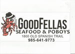 Good Fellas Seafood and Poboys Logo